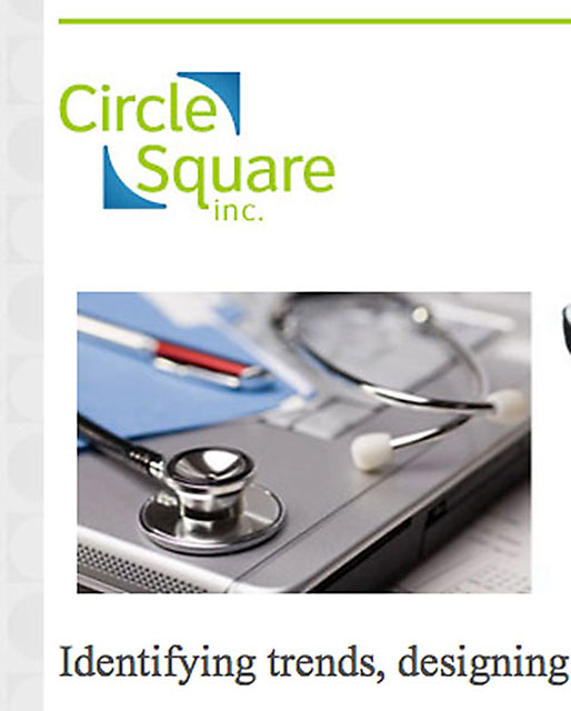 Developed this site for Circle Square's existing CMS.
